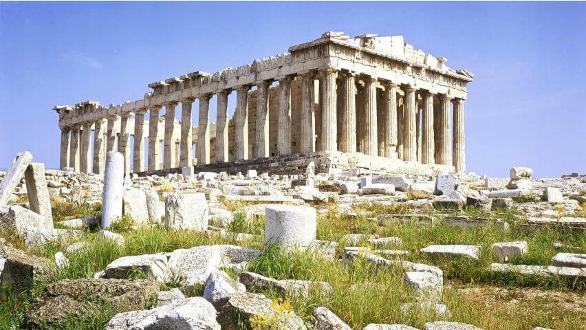 Parthenon grecko