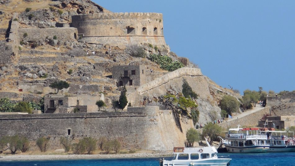 Hrad spinalonga