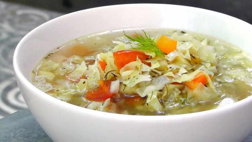 grecka šalatová polievka