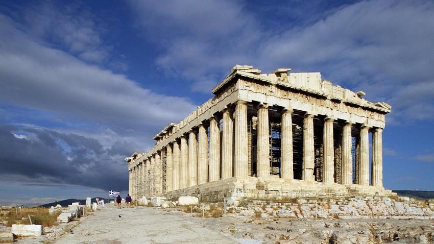 parthenon grécko