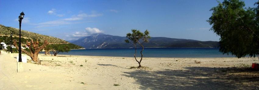 Pláž Psili Amos