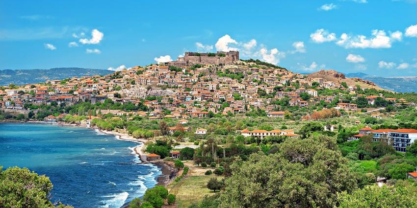 Ostrov Lesbos plný histórie