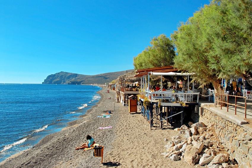 pláž Lesbos