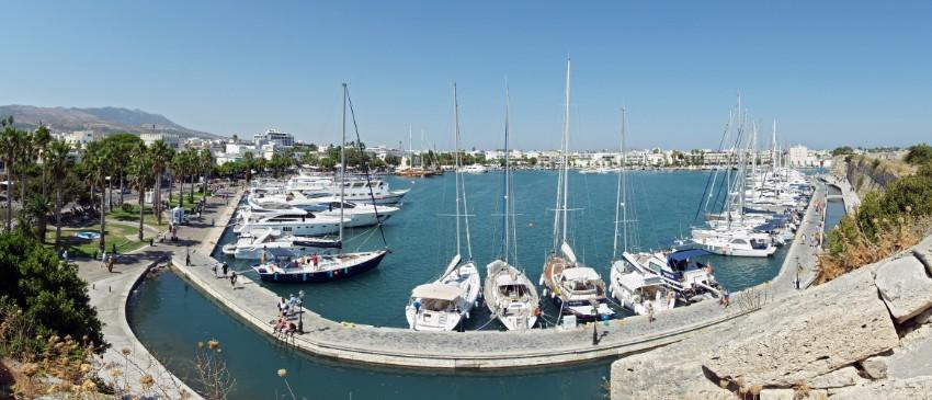 Prístav hlavné mesto Kos
