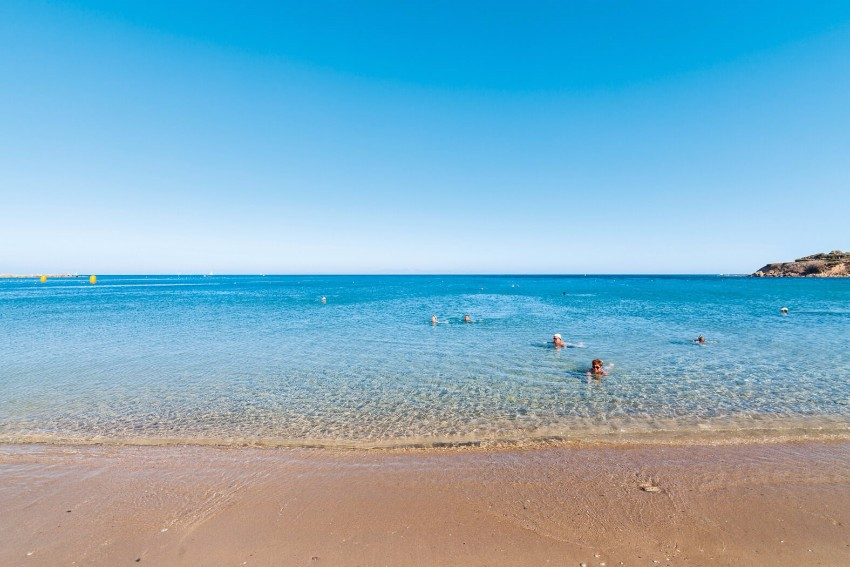 Pláž na Rodose