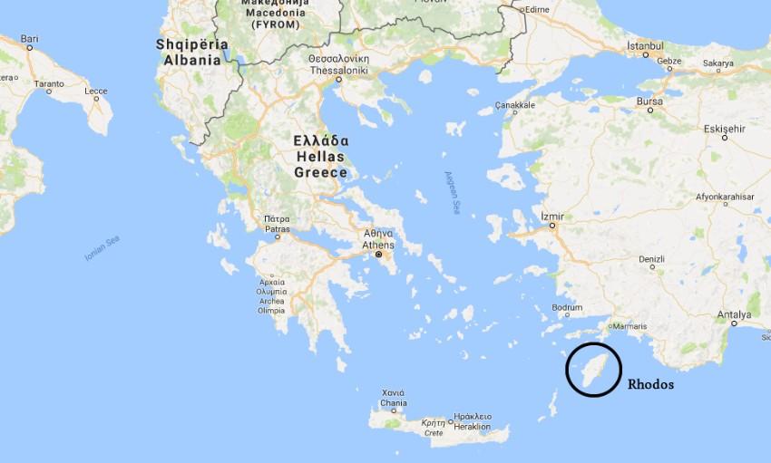 Rhodos Map