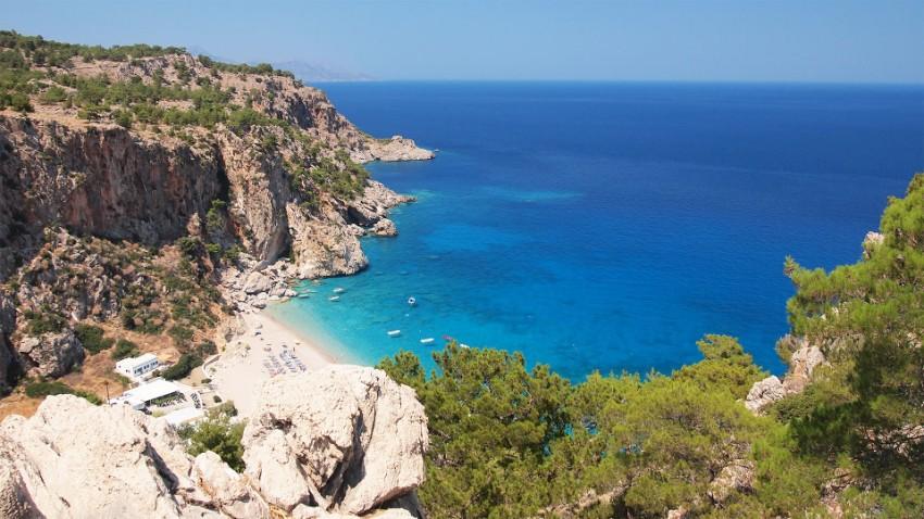 Grécky ostrov Karpathos
